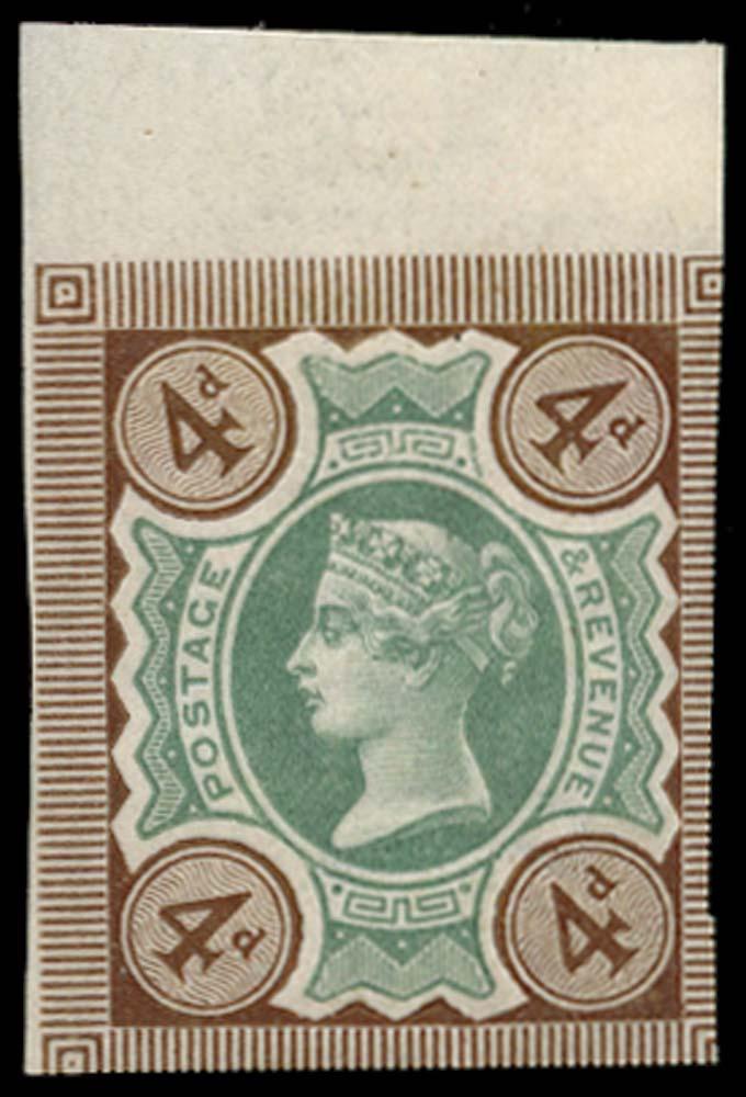 GB 1887  SG205aa Mint