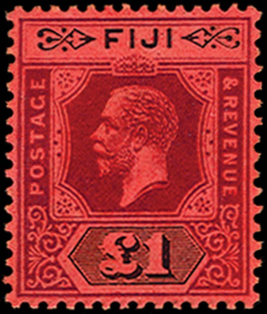 FIJI 1912  SG137a Mint