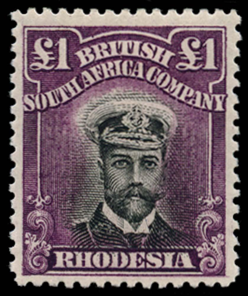 RHODESIA 1913  SG242 Mint