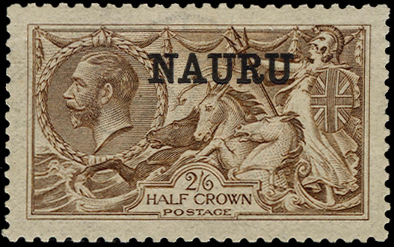 NAURU 1916  SG19b Mint