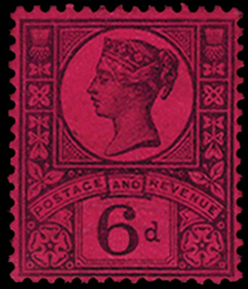 GB 1887  SG208var Essay