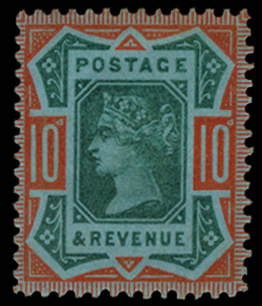 GB 1892  SG210var Essay
