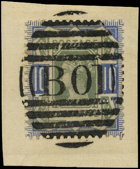 GB 1890  SG210var Essay