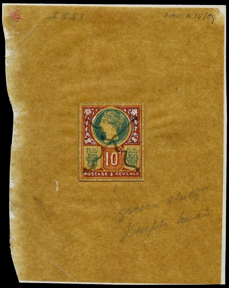 GB 1889  SG210var Essay