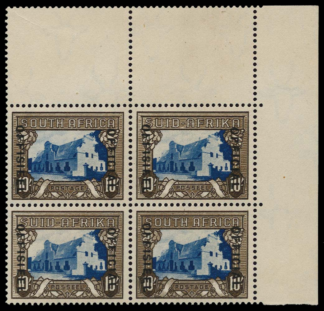 SOUTH AFRICA 1935  SGO27 Official