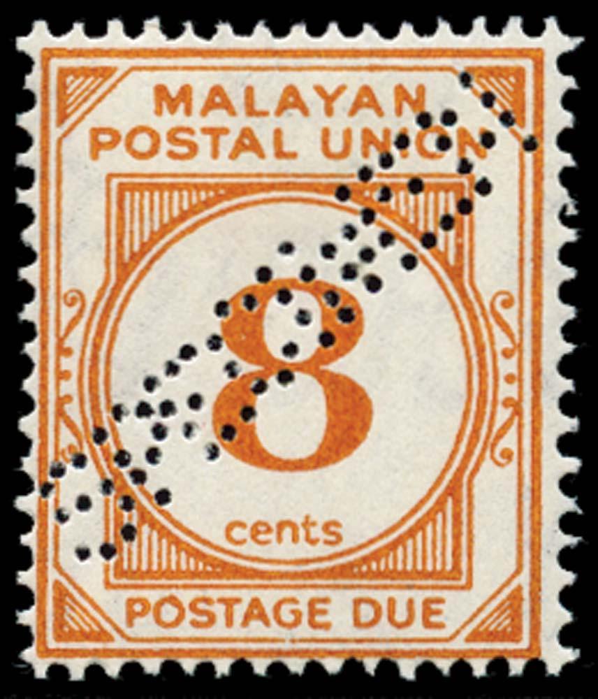 MALAYA - M.P.U. 1945  SGD10s Specimen