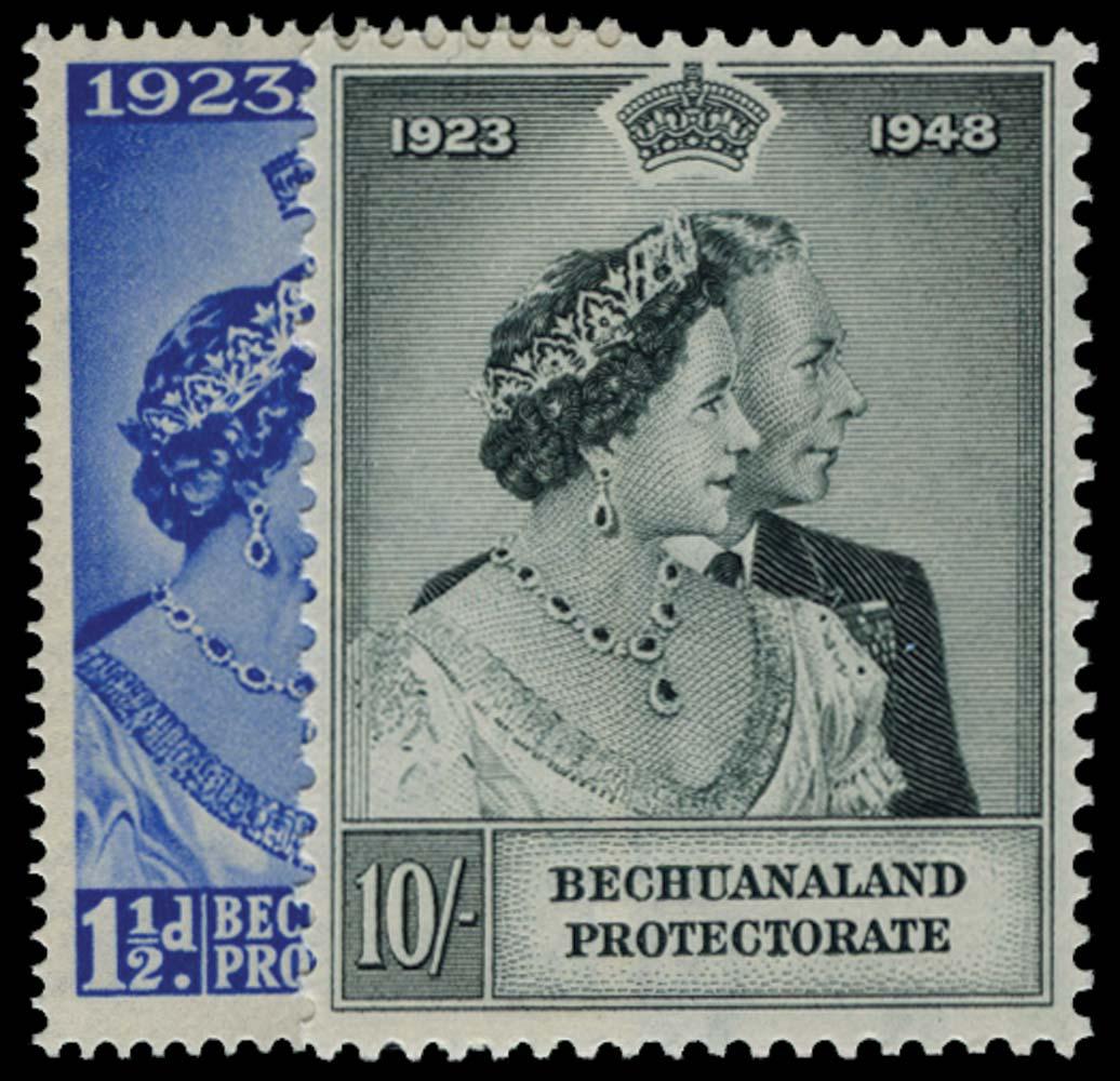 BECHUANALAND 1948  SG136/7 Mint