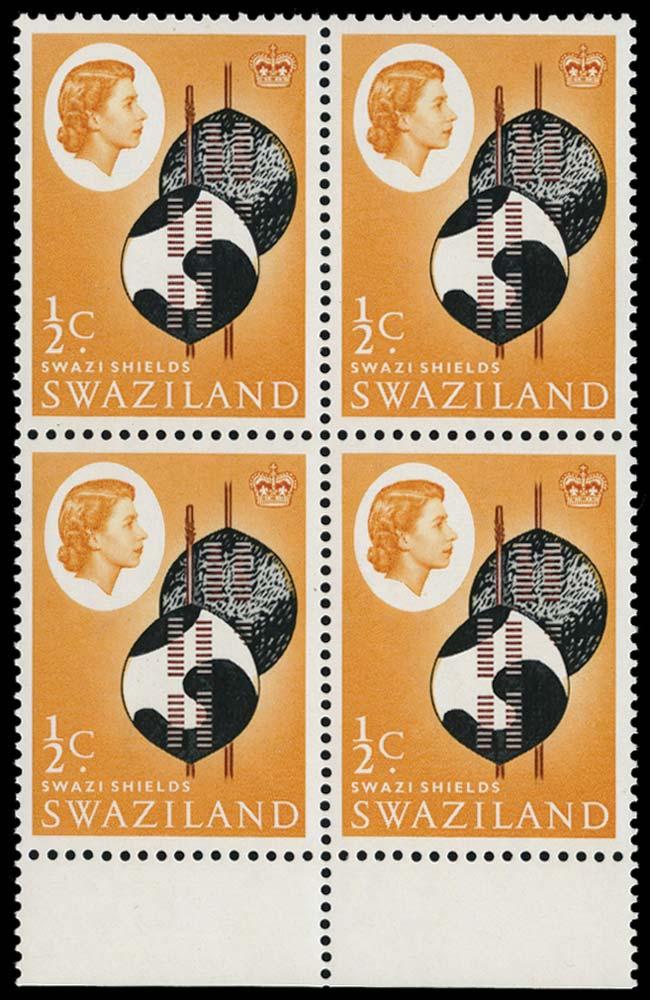 SWAZILAND 1962  SG90w Mint