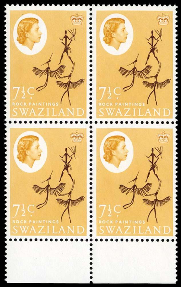 SWAZILAND 1962  SG97w Mint