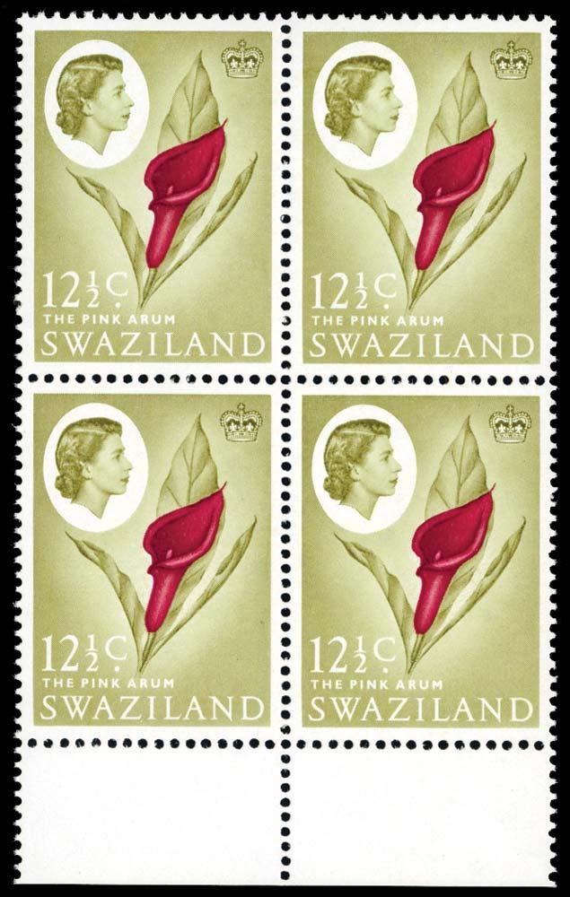 SWAZILAND 1962  SG99w Mint