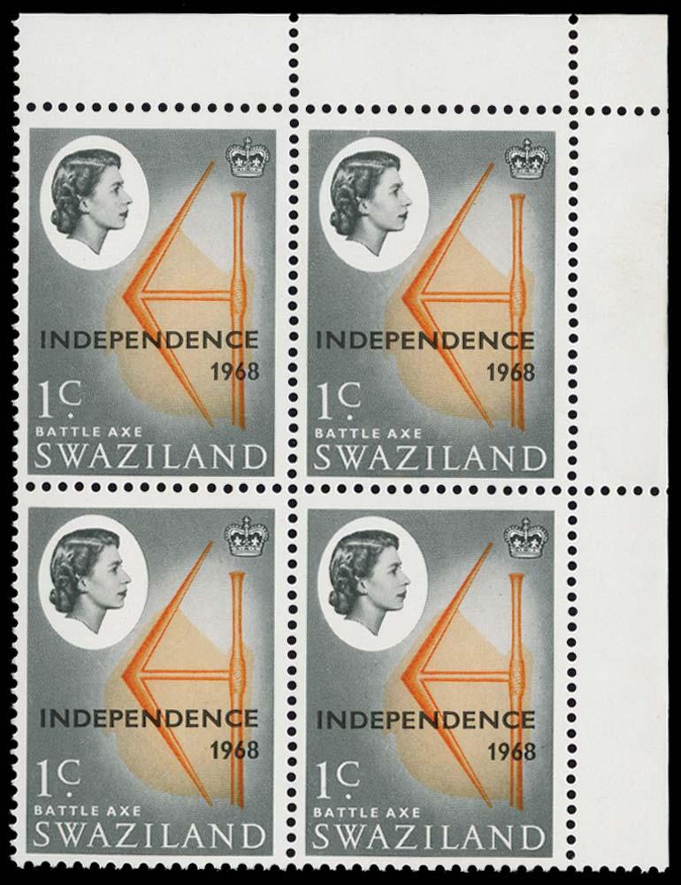 SWAZILAND 1968  SG143w Mint