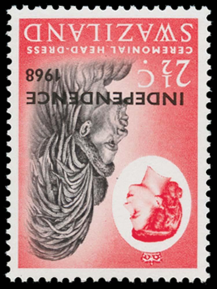 SWAZILAND 1968  SG145w Mint
