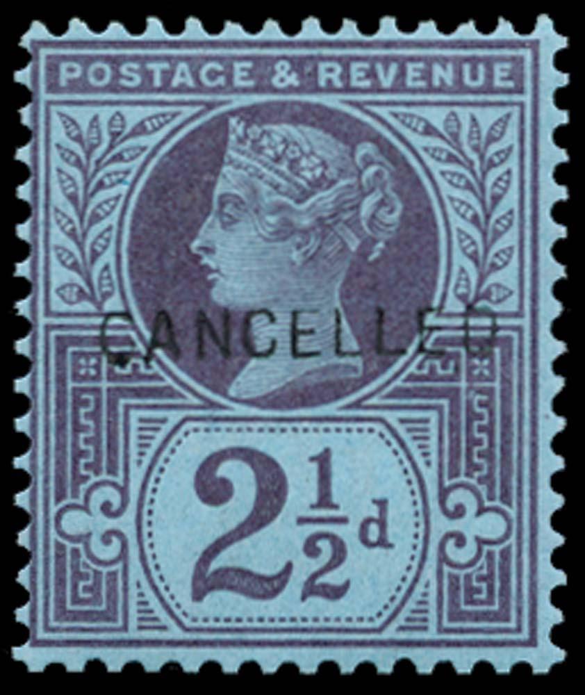 GB 1887  SG201var Specimen