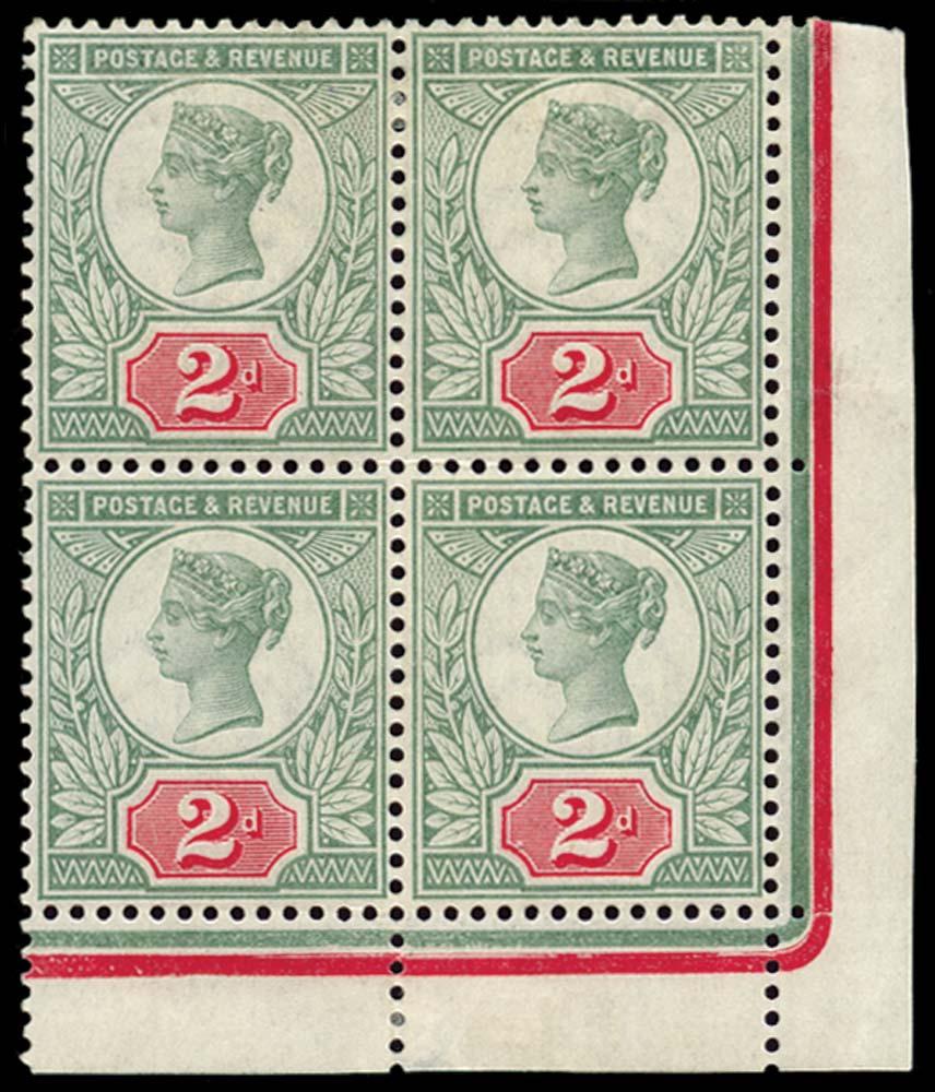 GB 1887  SG200 Mint