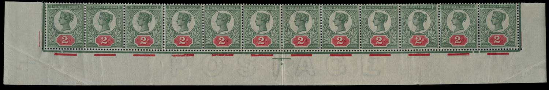 GB 1887  SG200var Mint