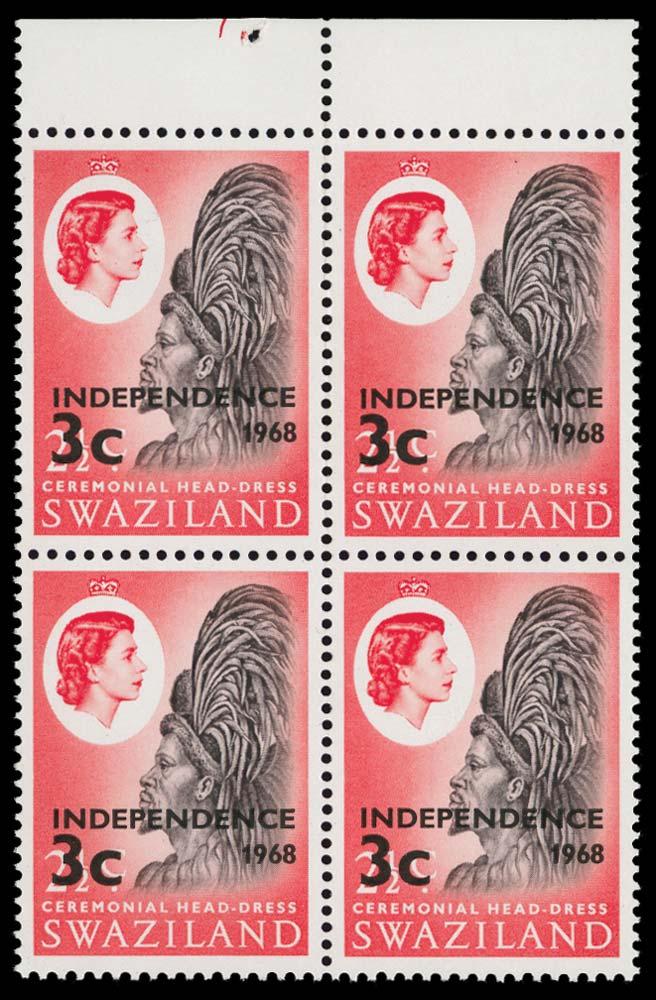 SWAZILAND 1968  SG146w Mint