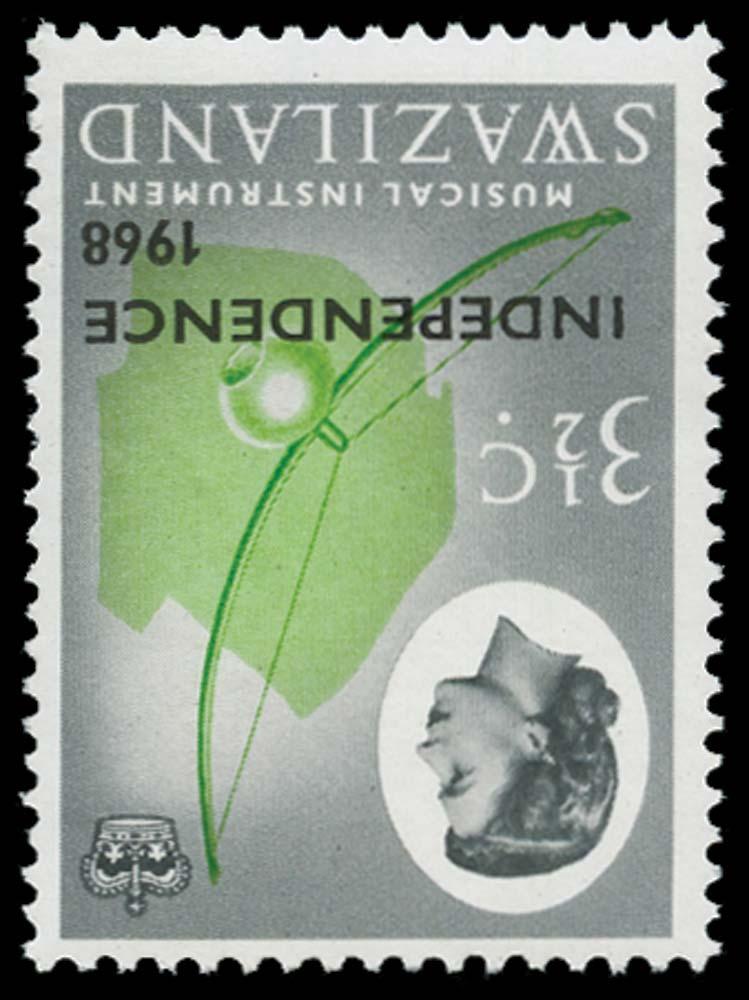 SWAZILAND 1968  SG147w Mint