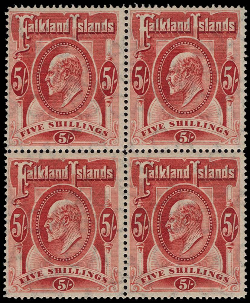 FALKLAND ISLANDS 1904  SG50 Mint
