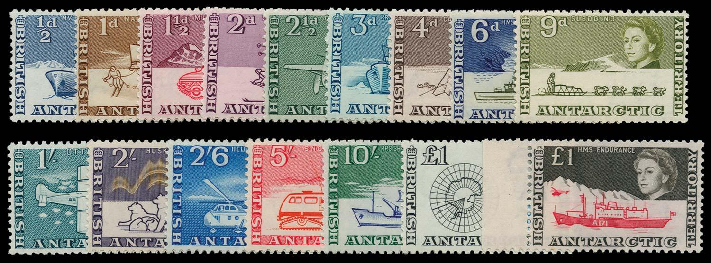 B.A.T. 1963  SG1/15a Mint