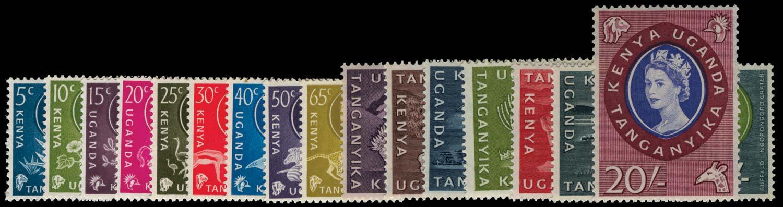 KUT 1960  SG183/98 Mint