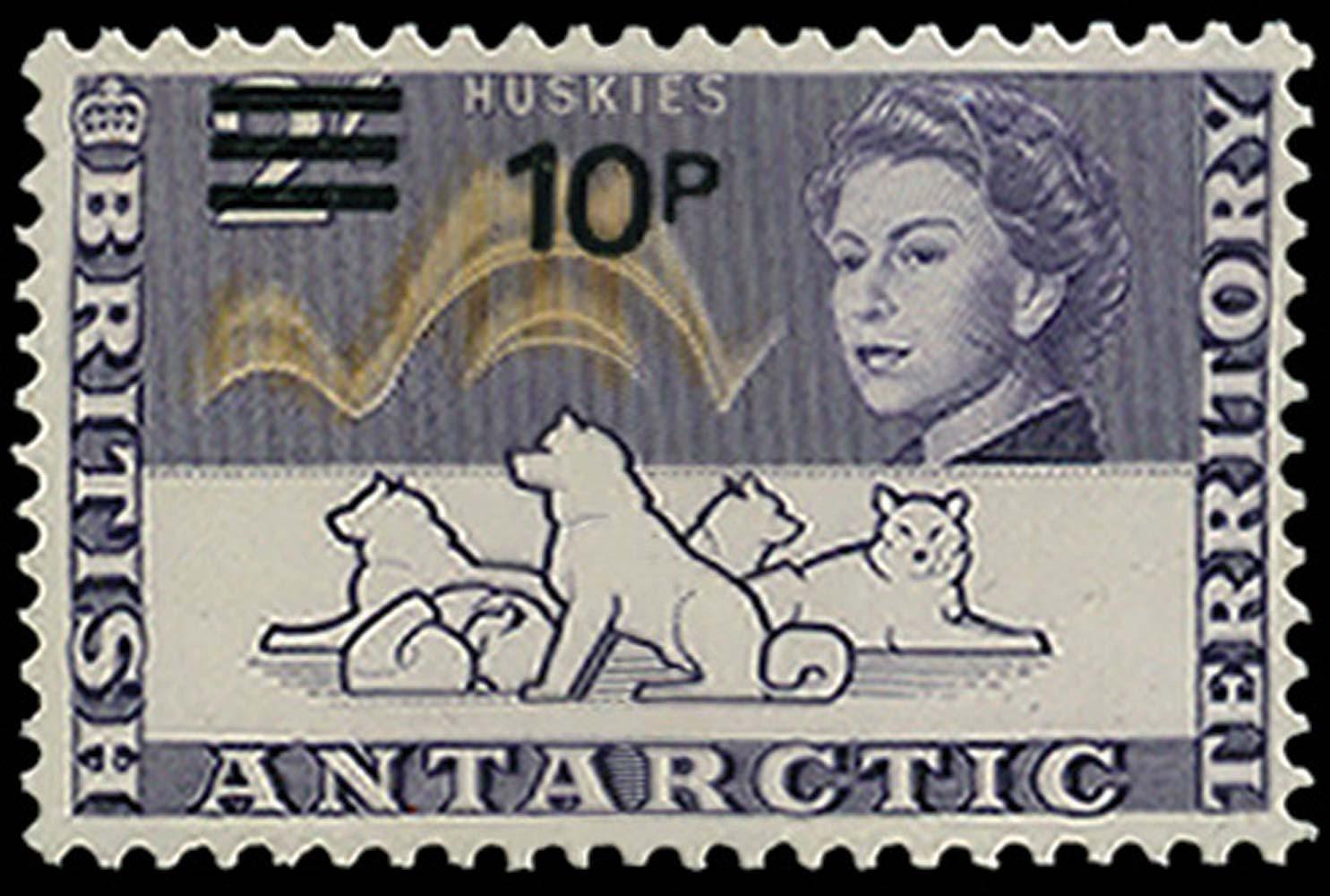 B.A.T. 1971  SG34w Mint