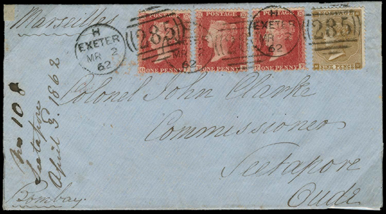 GB 1862  SG40, 86 Cover