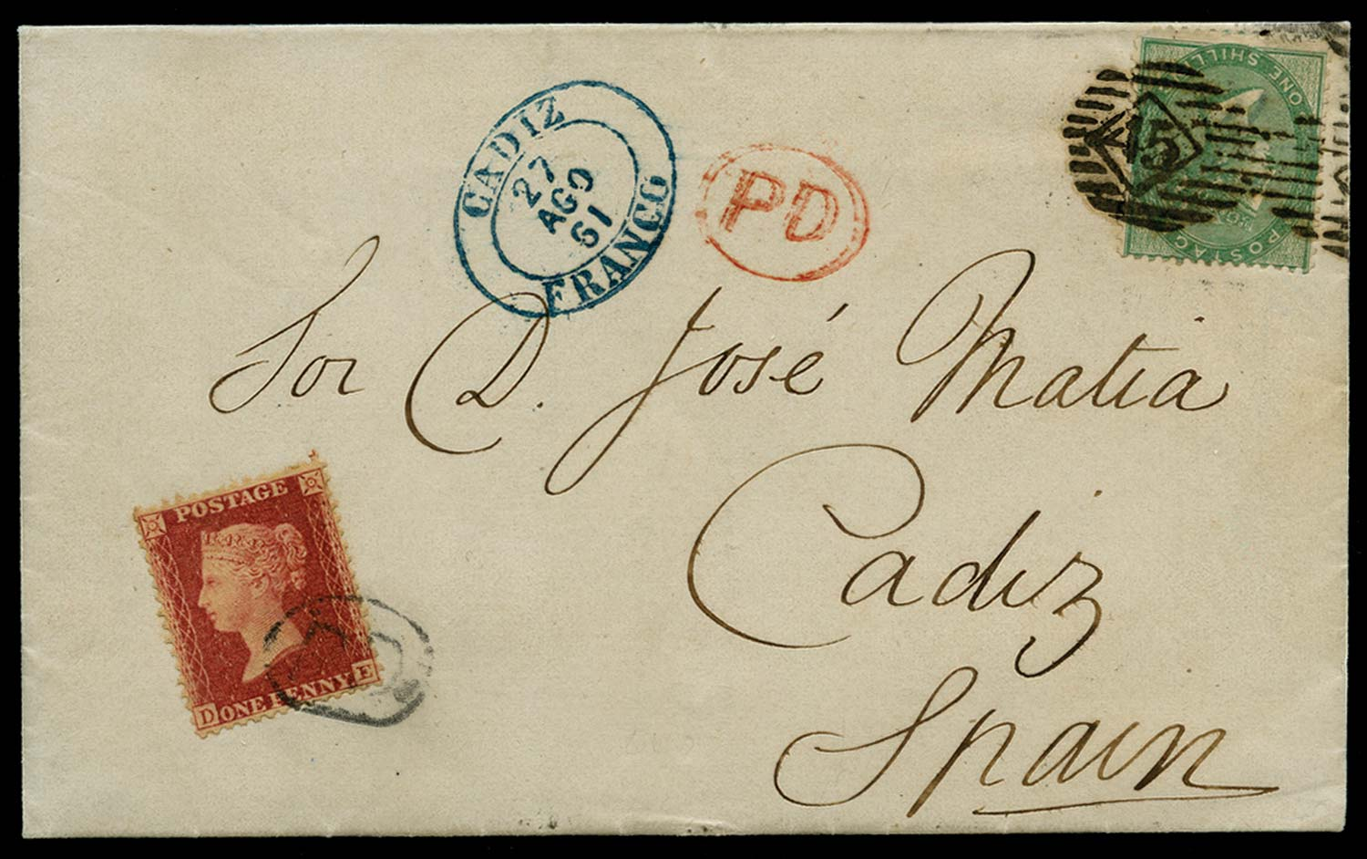 GB 1861  SG40,72 Cover