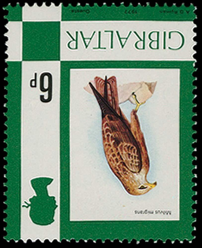 GIBRALTAR 1977  SG381w Mint