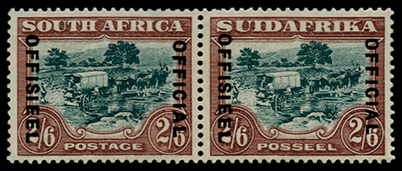 SOUTH AFRICA 1930-47  SGO18a Official