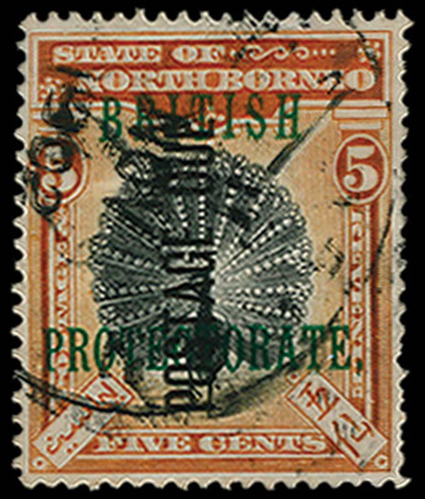 NORTH BORNEO 1902  SGD34 Postage Due