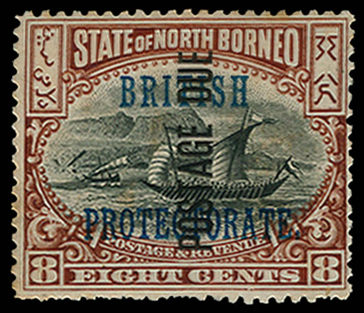 NORTH BORNEO 1902  SGD35 Postage Due