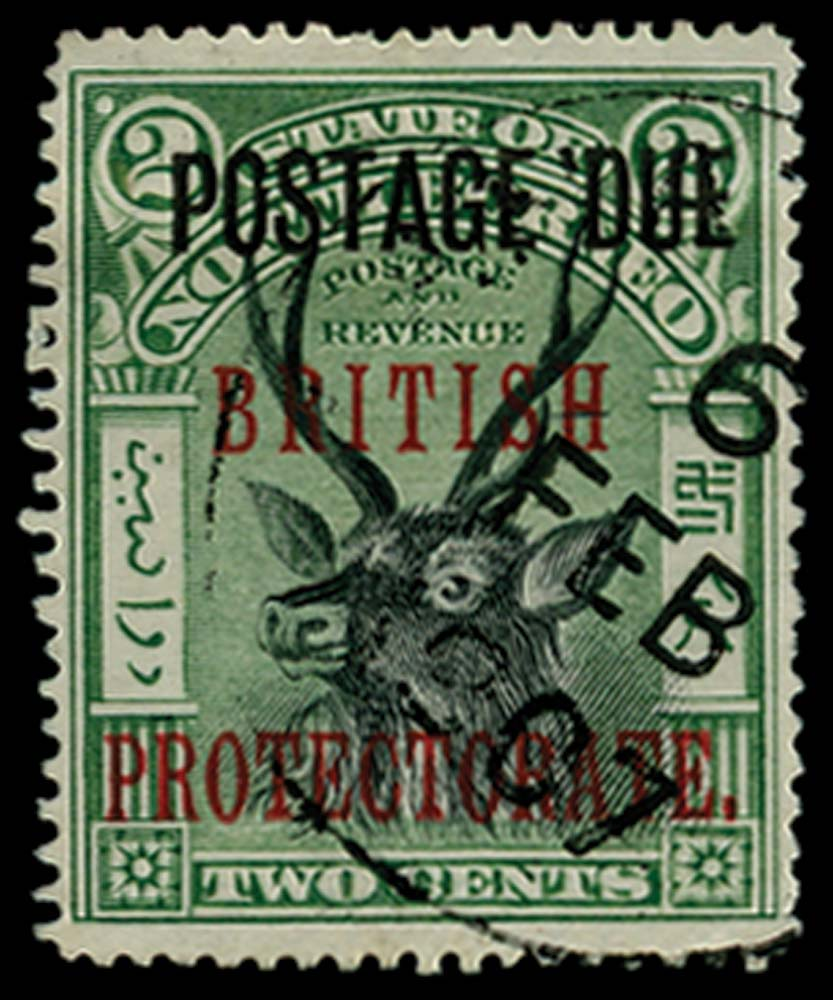 NORTH BORNEO 1902  SGD50 Postage Due