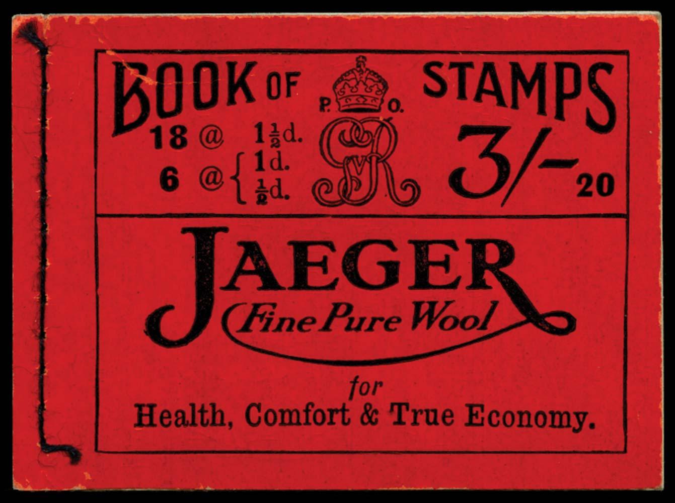GB 1919  SGBB19 Booklet (Edition 20)