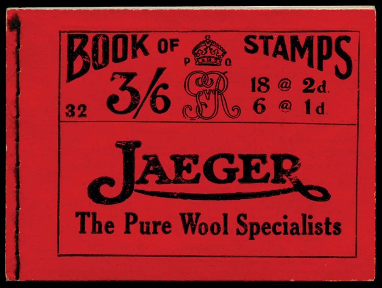 GB 1920  SGBB30 Booklet (Edition 32)