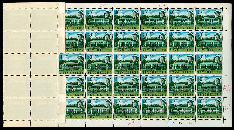 BRITISH INDIAN OCEAN 1968  SG6/a/b Mint