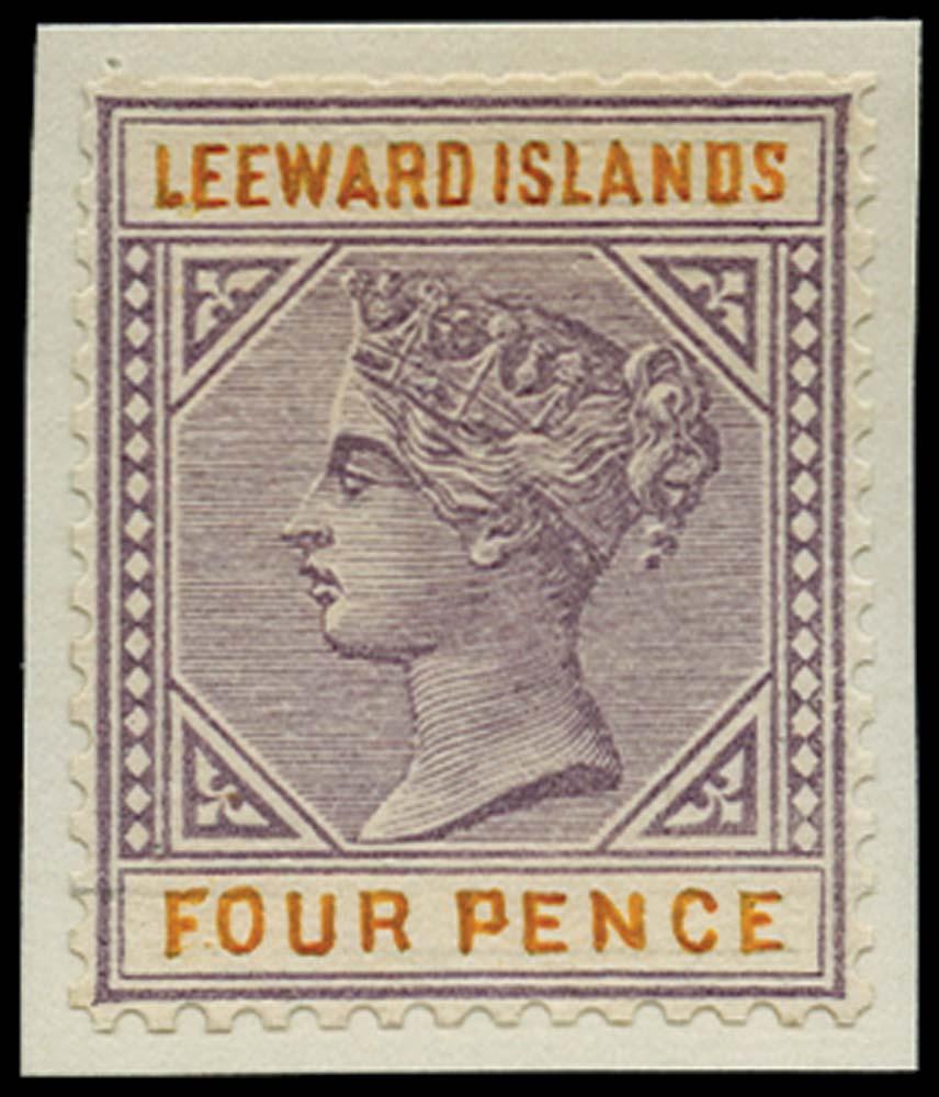 LEEWARD ISLANDS 1890 Essay