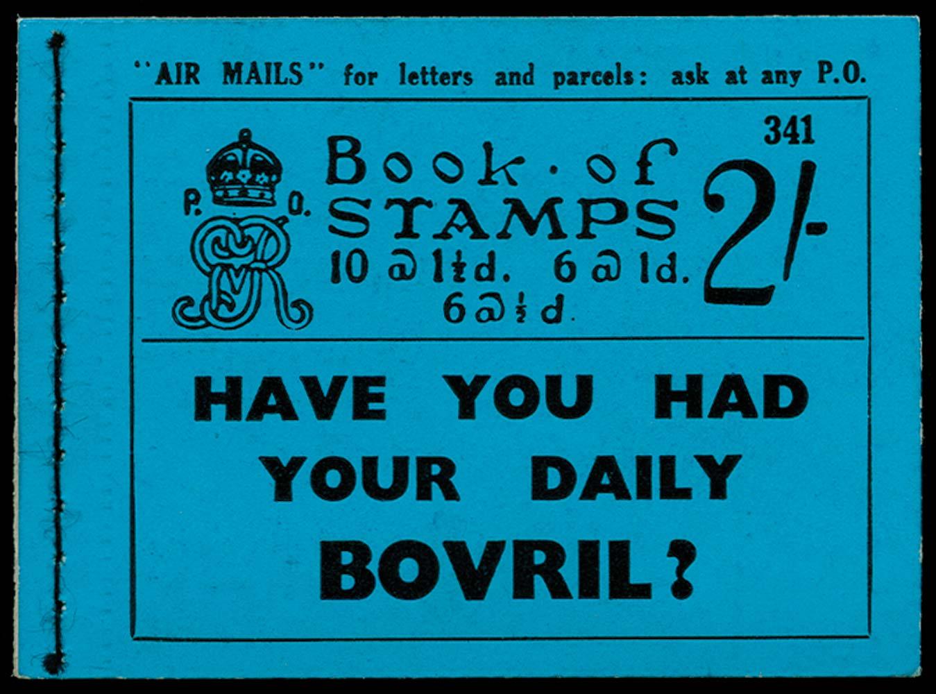 GB 1935  SGBB17 Booklet (Edition 341)