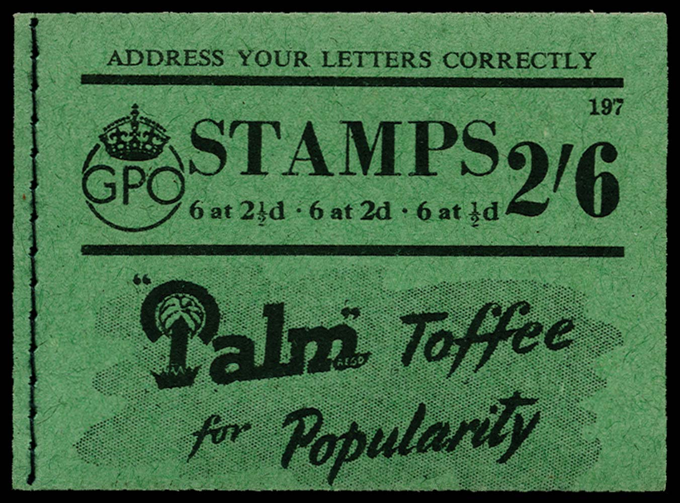 GB 1942  SGBD17 Booklet (Edition 197)