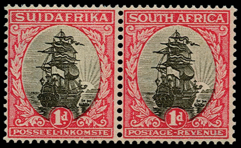SOUTH AFRICA 1929  SG43var Proof