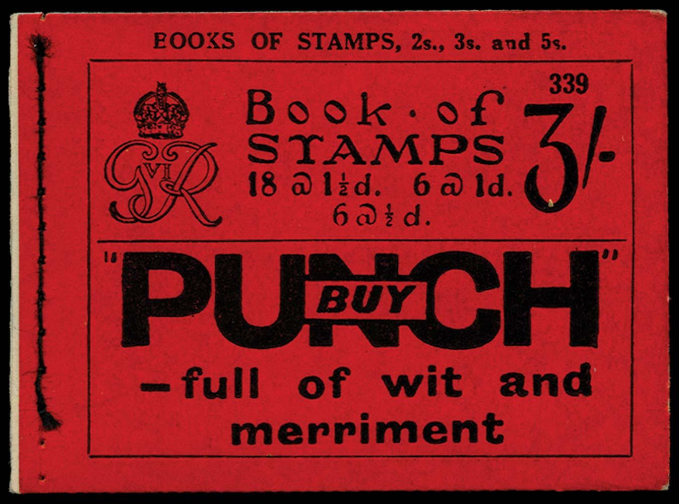GB 1937  SGBD21 Booklet (Edition 339)