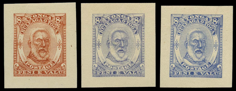 TONGA 1892  SG13 Proof