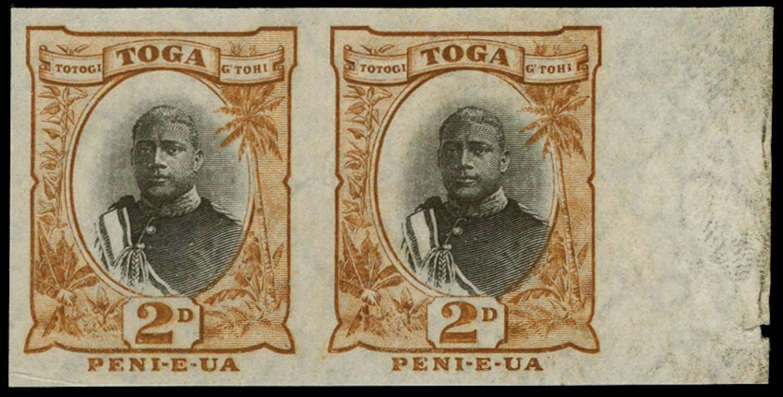 TONGA 1897  SG41a Proof