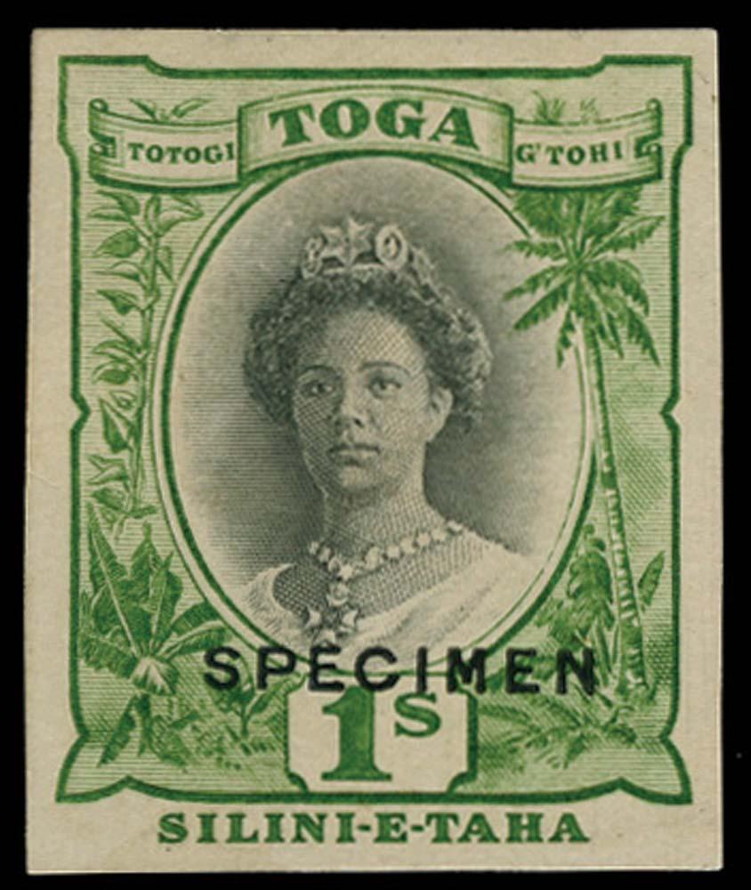 TONGA 1922  SG63 Proof
