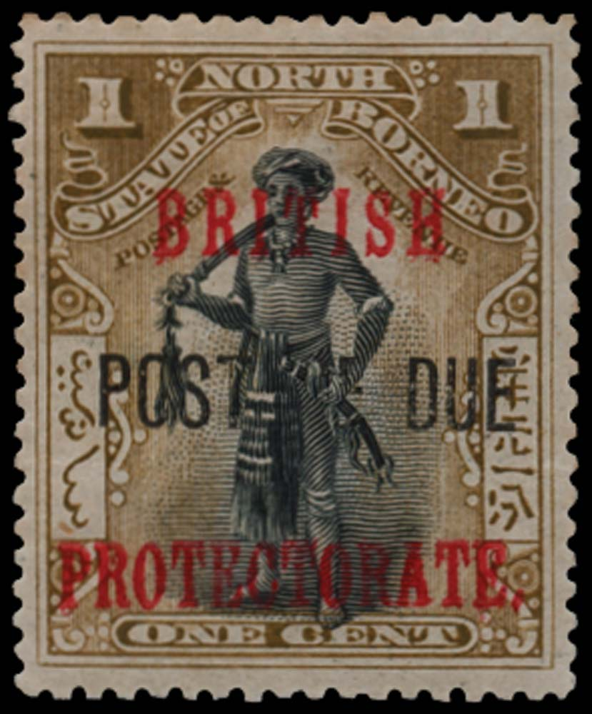 NORTH BORNEO 1902-12  SGD37a Postage Due