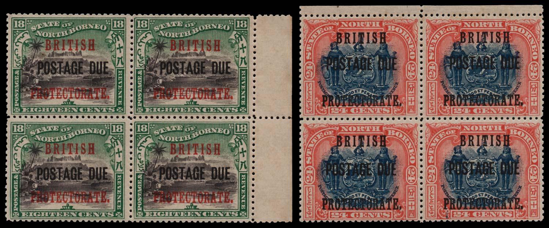 NORTH BORNEO 1902-12  SGD48/9 Postage Due