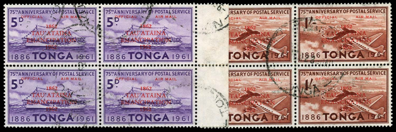 TONGA 1962  SGO12/13 Official