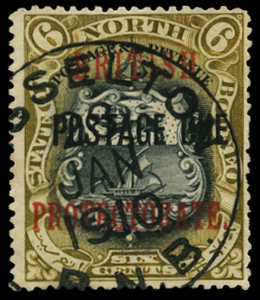 NORTH BORNEO 1902-12  SGD42d Postage Due
