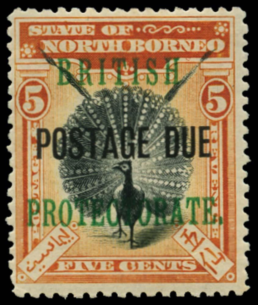 NORTH BORNEO 1902-12  SGD41 Postage Due