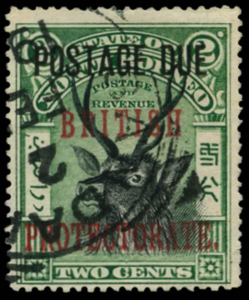 NORTH BORNEO 1902-12  SGD50 Postage Due
