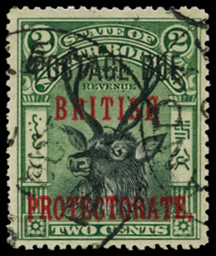NORTH BORNEO 1902-12  SGD50a Postage Due